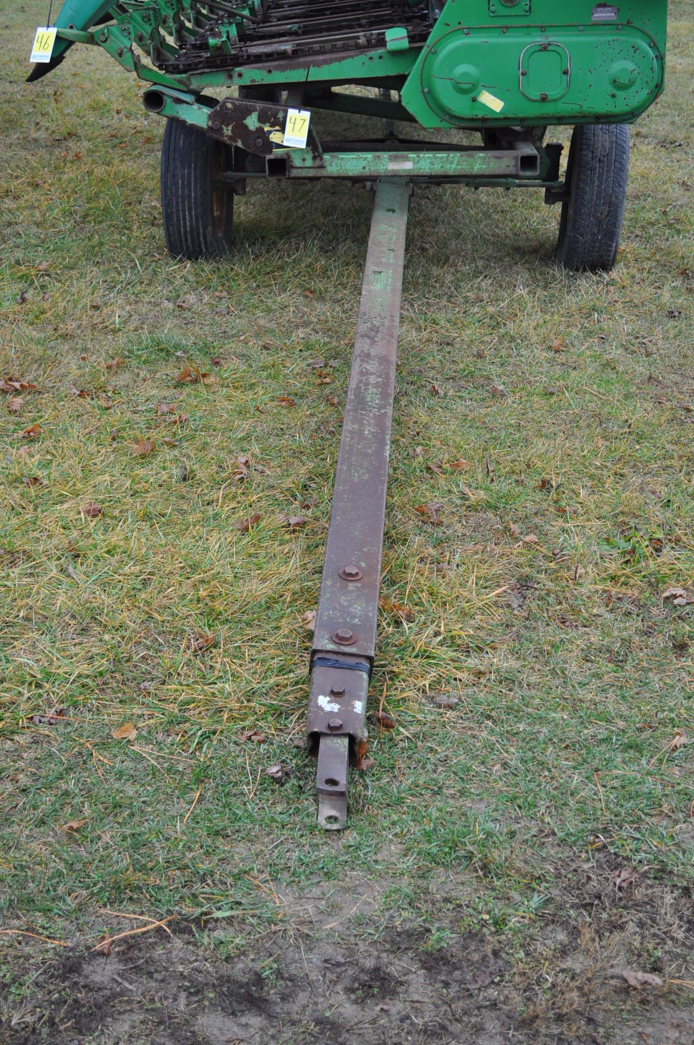 20' John Deere header wagon, 9.5 L-15 tires - Image 6 of 6