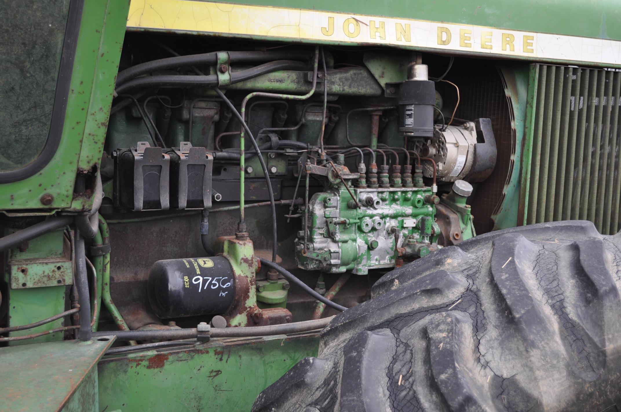 John Deere 7520 tractor, 4WD, diesel, 18.4-34 duals, original fenders, CHA, cab interior kit, 3 - Image 9 of 24