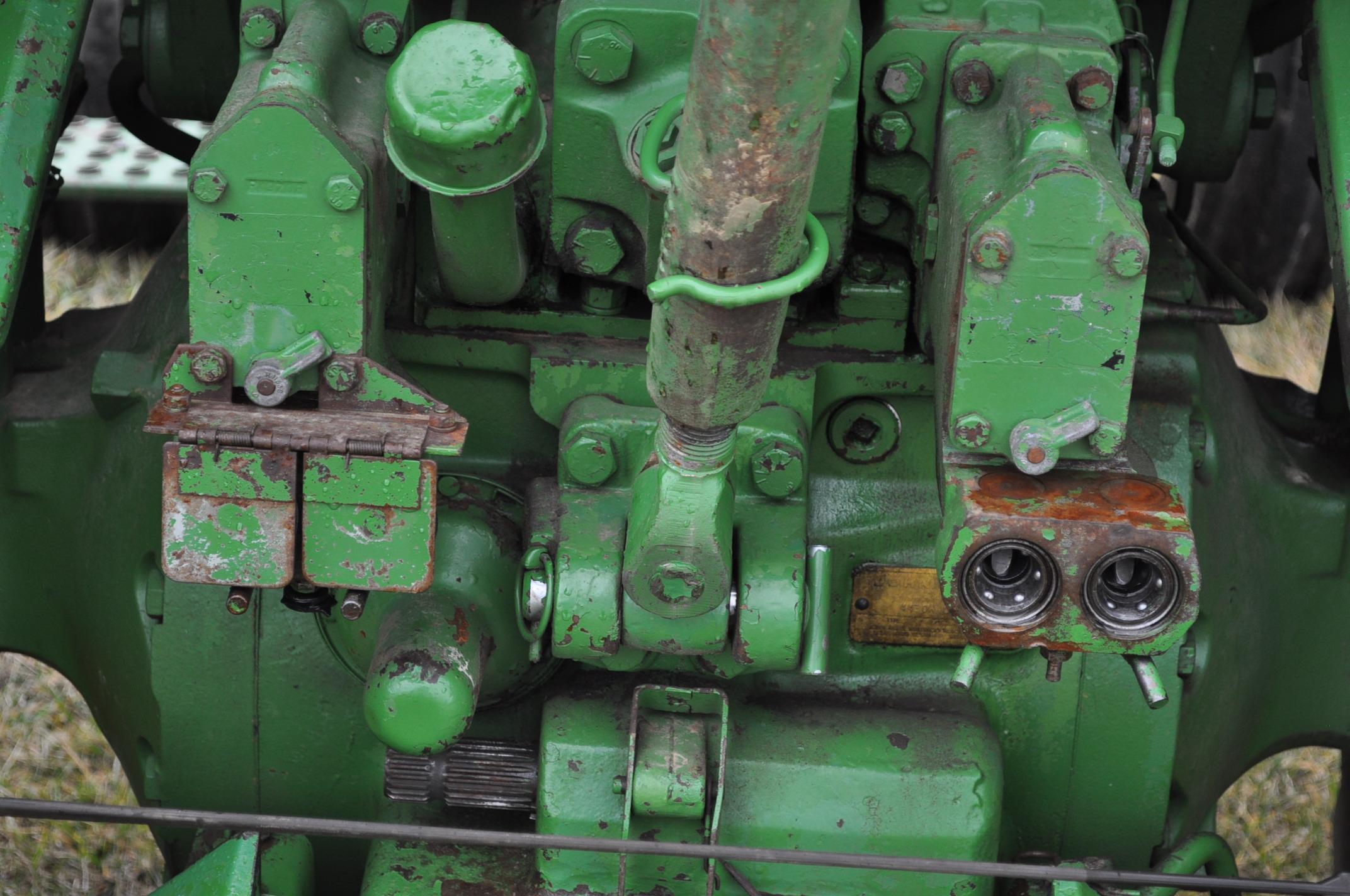 John Deere 4430 tractor, diesel, 18.4-34 hub duals, 10.00-16 front, CHA, Quad range, 2 hyd - Image 12 of 20