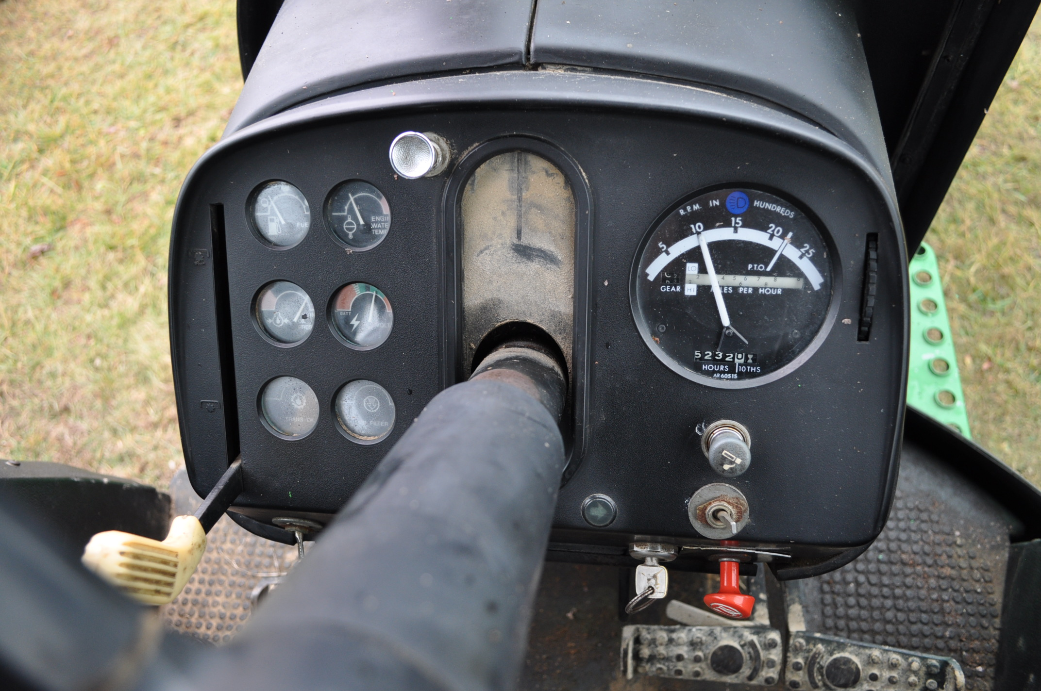 John Deere 4230 tractor, diesel, 18.4-34 hub duals, 10.00-16 front, CHA, Quad range, 2 hyd - Image 21 of 23