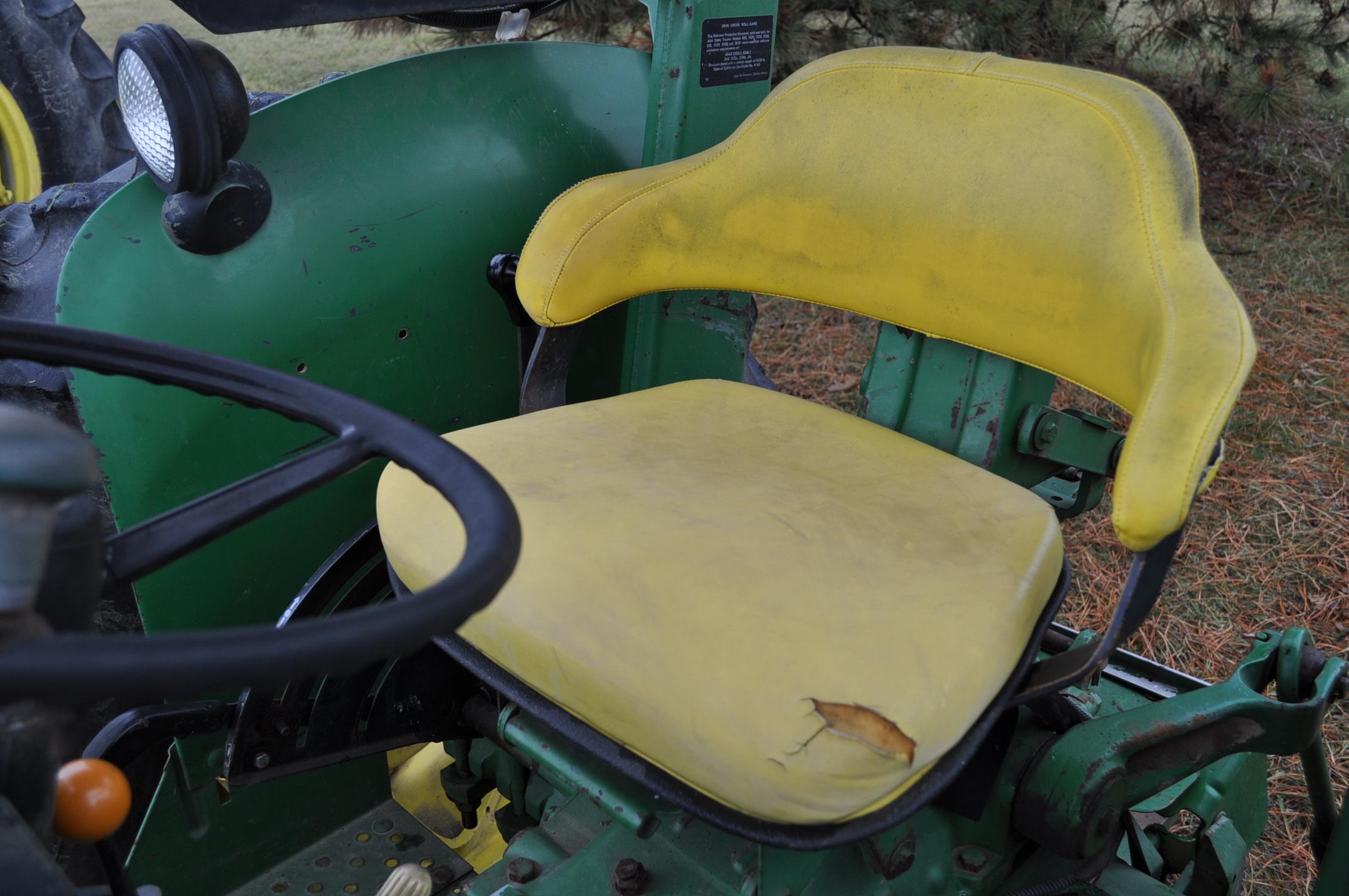 John Deere 2630 tractor, diesel, 16.9-28 rear, 9.5-15 front, 1 hyd remote, 540 pto, 3 pt, 4260 - Image 17 of 18
