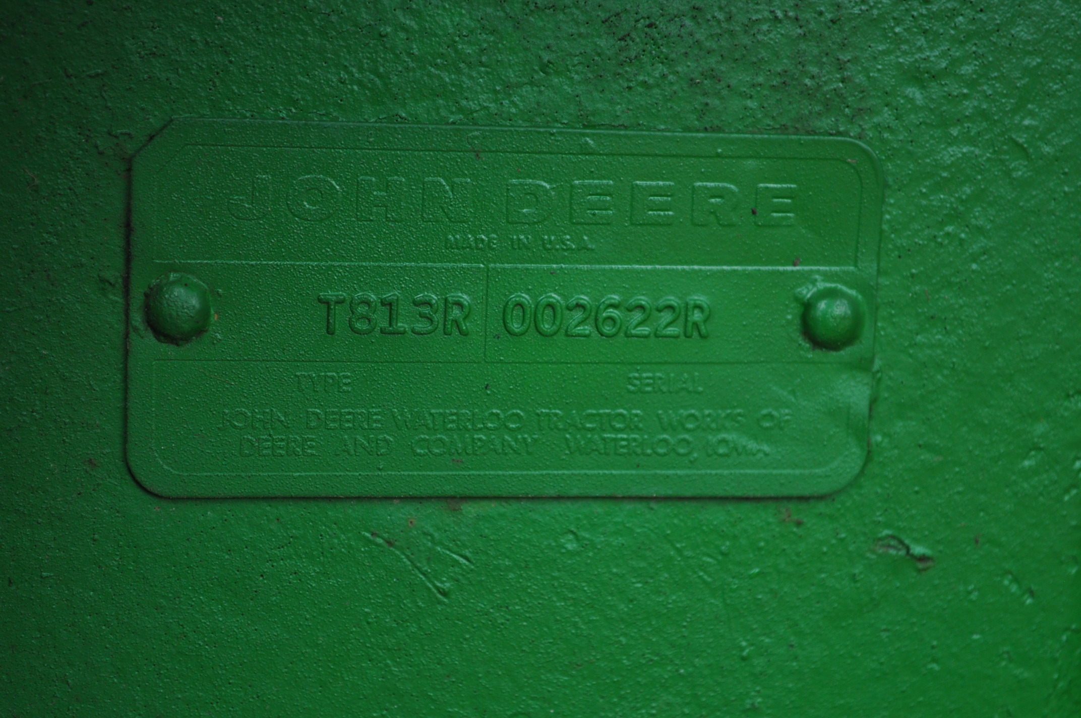 John Deere 4520 tractor, ***4520 frame with 4620 engine**** diesel, 18.4-38 new inside rear - Image 12 of 17