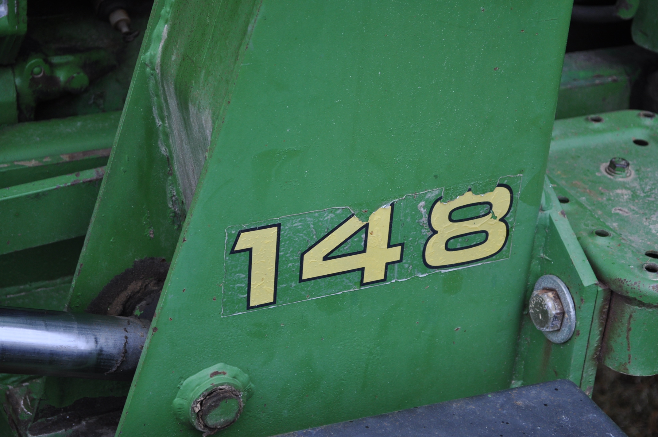 John Deere 4030 tractor, diesel, 18.4-34 rear duals, rear wts, 9.5-15 front, 4-post canopy, Syncro, - Image 18 of 26