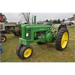 1942 John Deere Styled A, New 12.4-38 rear tires, narrow front, 540 pto