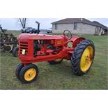 Massey Harris 101 Junior tractor, 12-38 tires, narrow front, 540 pto, SN 501605