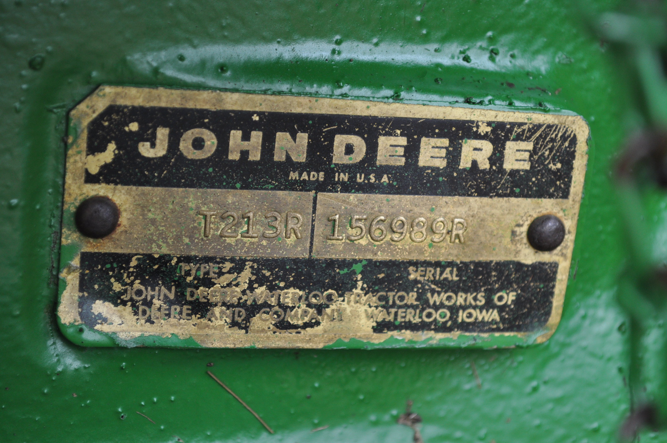 John Deere 4020 tractor, diesel, 18.4-34 tires w/ clamp on dual rims, 11L-15 front, ROPS w/ - Image 16 of 22