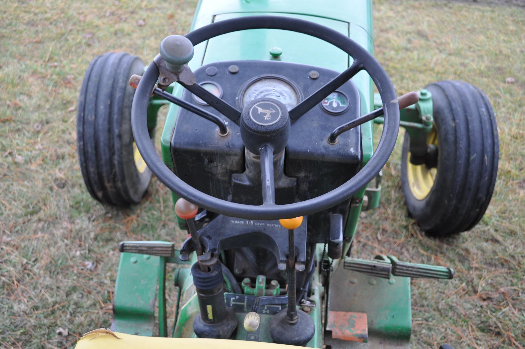 John Deere 2630 tractor, diesel, 16.9-28 rear, 9.5-15 front, 1 hyd remote, 540 pto, 3 pt, 4260 - Image 15 of 18