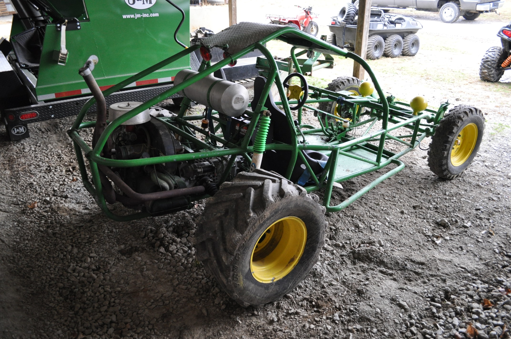 Dune buggy, VW air-cooled gas engine, 31 x 15.5-15 rear, 6.70-15LT front - Image 4 of 10