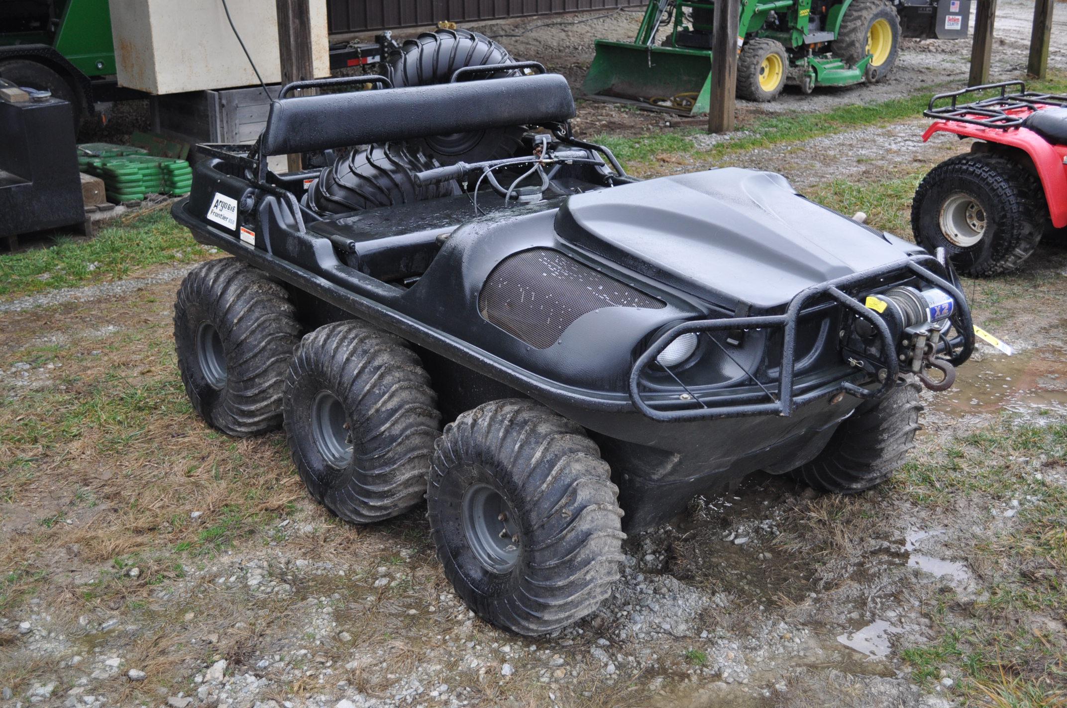 2008 Argo Frontier 650 6x6 ATV, 24 x 10.00-8 tires, 256 hrs - Image 4 of 8