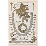 Birmingham Jewellery& Silver.- Harcus (Mrs) Filigree Work, chromolithographed decorative title and …