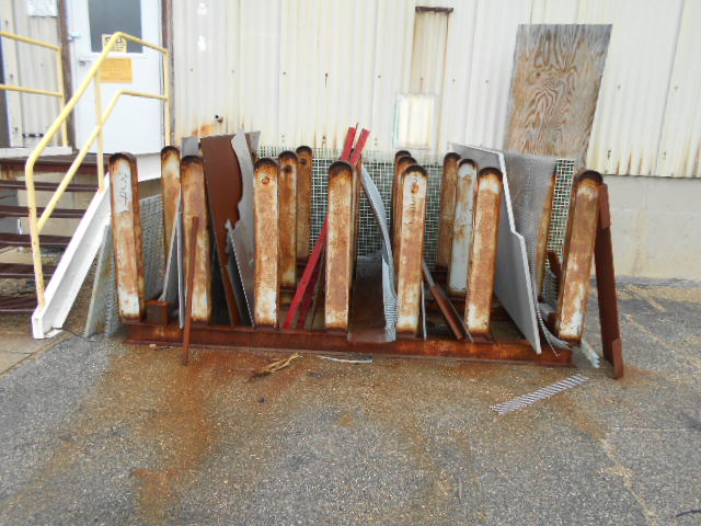 "Lot 39C - Lot of aluminum plates, up to 1"" thick"
