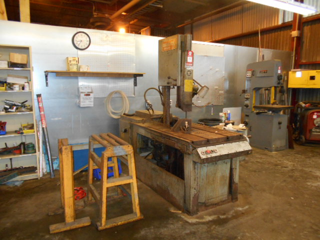 Lot 18 - Vertical Band Saw, Marvel Series 8 Mark I, High Column Vertical Band Saw