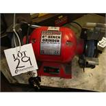 """A Sealey BG150XL/96 6"""" single phase double ended bench grinder"""