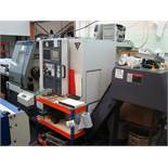A CMZ TA-20-640 bar fed CNC turning centre Serial number 205 (2015) with Fanuc 32i-Model B control