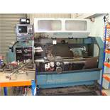 A Proturn 410 CNC gap bed lathe Serial number 122 with SWI ProtoTrak LX2 control system, chucks