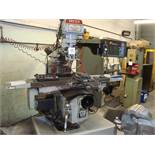 An XYZ SMX SLV vertical milling machine Serial number 10817 with ProtoTrak SMX control system,