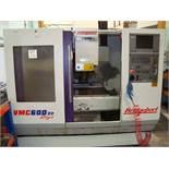 A Bridgeport VMC600-22 CNC vertical machining centre Serial number 721716 (1998) with Heidenhain