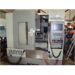 A Dugard Eagle 850 VMC vertical CNC machining centre Serial number MC094H01 with Heidenhain