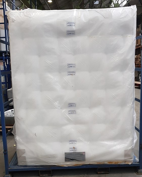 Lot 15 - 1 GRADE A BAGGED SOMNIOR BEDS OPTIMUM 3000 POCKET
