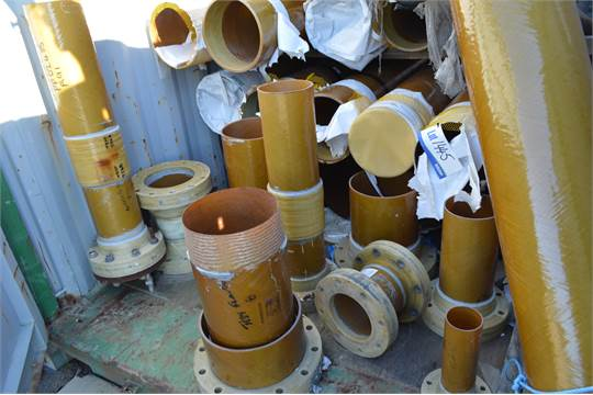 Future Pipe Industries Wavistrong GRP Wound Piping, in one