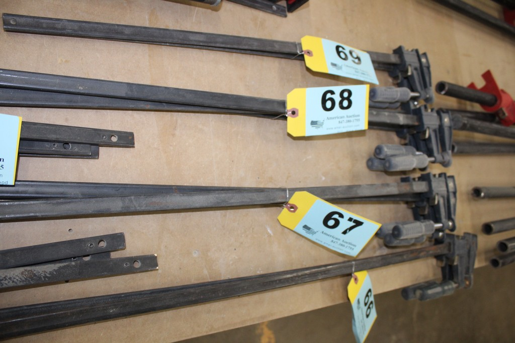"""(3) 30"""" BAR CLAMPS"""