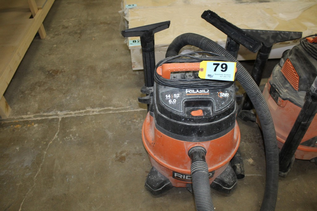 RIDGID 14 GALLON 6.0 HP SHOP VAC