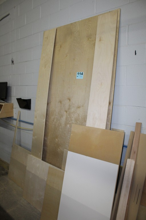 LARGE QTY OF WOOD AGAINST WALL - Image 2 of 3