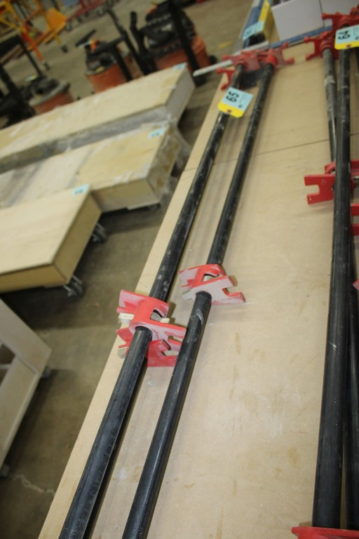 """(3) BESSEY 54"""" PIPE CLAMPS"""
