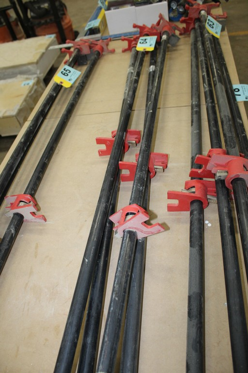 """(4) BESSEY 54"""" PIPE CLAMPS"""