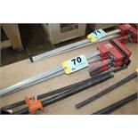 "(2) BESSEY 24"" BAR CLAMPS"