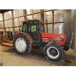"ZETOR 10540 DIESEL TRACTOR WITH 4.2L 4 CYLINDER ENGINE, 65"" REAR TIRES, ENCLOSED CAB, RADIO, CLIMATE"
