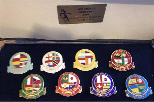 World Cup Football Badges: Limited edition World Cup 2006