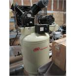 AIR COMPRESSOR, INGERSOLL RAND MDL. CBV185461, 10 HP motor, Mdl. D601T dryer, (Location 11: