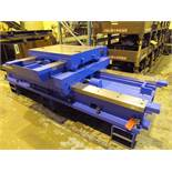 "COMPOUND CROSSLIDE TABLE, Heavy Duty Boring Mill Style, 36"" x 46"" tbl, (Location 5: Gates Machine"