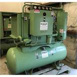 AIR COMPRESSOR, SULLAIR MDL. 01-588-101 ROTARY SCREW TYPE, 30 HP motor (NOTE: Rebuilt but never