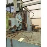 "VERTICAL MILL, SAJO MDL. HBF450, 17"" X 74"" tbl., spds: 60-1800 RPM, S/N 7185. (Location 5: Gates"
