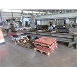 "CNC FLATBED HOLLOW SPINDLE LATHE, LODGE & SHIPLEY, G.E. Fanuc 0-T CNC control, 32 1/4"" swing, 20 1/"