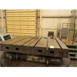 "HYDROSTATIC ROTARY TABLE, GIDDINGS & LEWIS, 72"" X 72"", 40,000 LB. CAP., (Location 5: Gates Machine"