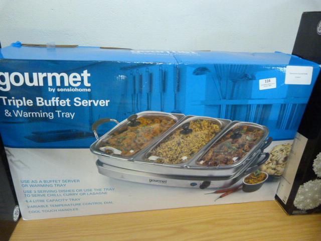 Lot 116 - *Sensiohome Gourmet Buffet Server