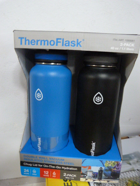 Lot 154 - *Thermoflask Stainless Steel 2pk