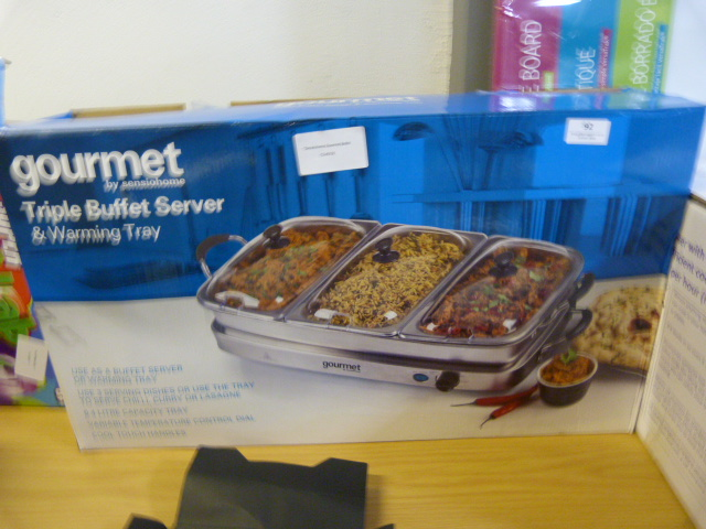 Lot 92 - *Sensiohome Gourmet Buffet Server