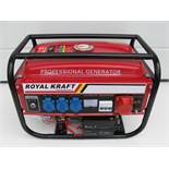 + VAT Brand New Electric Start Generator 220V/380V 50Hz In Metal Frame 6.5HP - Approx 40KG -