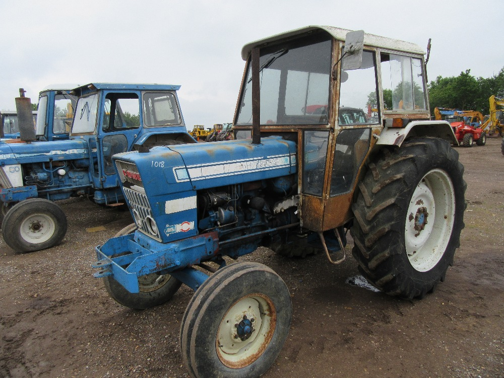 Ford 7000 Tractor : Ford tractor with dual power load monitor v will
