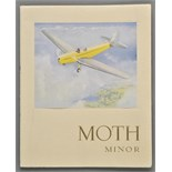 Aviation Brochures. The New Moth Minor De Havilland, 1939, original brochure, tipped-in colour
