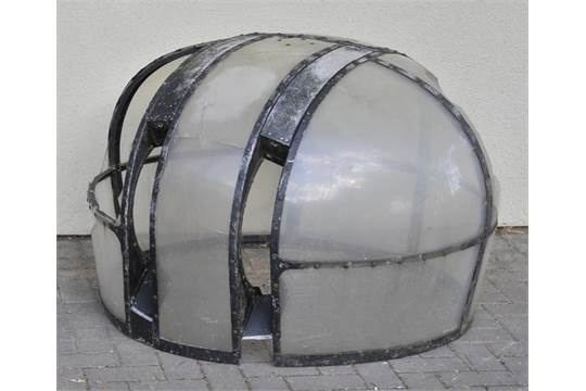 WWII FN-50 Lancaster mid upper section turret canopy of perspex and aluminiu  sc 1 st  The Saleroom & Lancaster Turret. WWII FN-50 Lancaster mid upper section turret ...