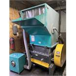 PLASTICS TECHNOLOGIES GRANULATOR, MODEL RG-4680S-F, 29.5 HP, CYCLONE, HOPPER, S/N 120503046