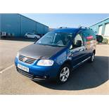 Volkswagen VW Caddy Maxi Life 1.9 TDI MPV 5 Seats - 2010 Reg - Wheelchair Access - SAVE 20% NO VAT
