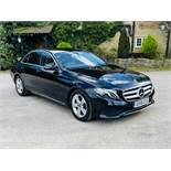 (RESERVE MET) Mercedes E220d Special Equipment 9G Tronic - 2018 18 Reg Current Model - Sat Nav