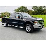 (RESERVE MET) FORD F-250 SUPER-DUTY LARIAT 6.4L V8 2009 YEAR **DIESEL** -4X4-SUPER-CREW - FULL SPEC