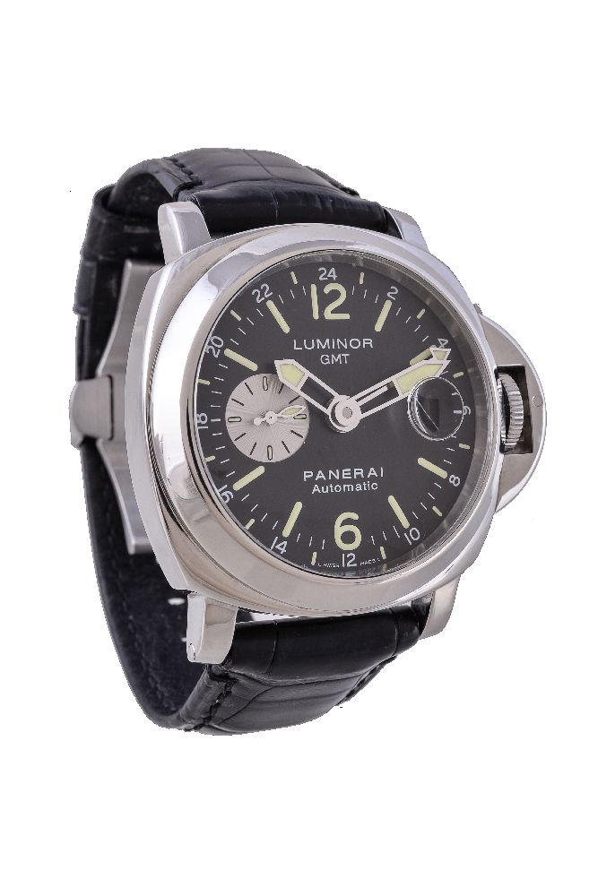 Lot 122 - Officine Panerai, Luminor GMT, Ref. OP 6761 PAM00088